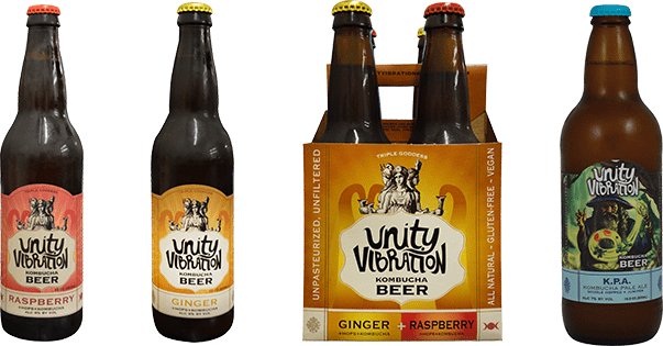 unity vibration ginger kombucha beer gluten free beer review